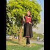 Kanwal aftab in black dress