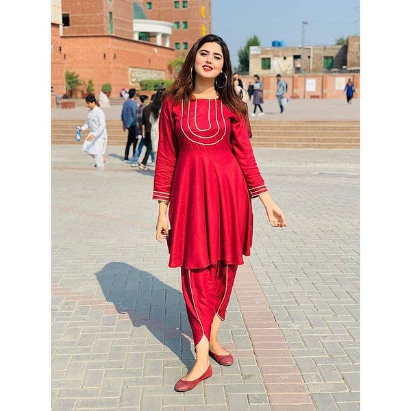 Kanwal Aftab Popular Dress